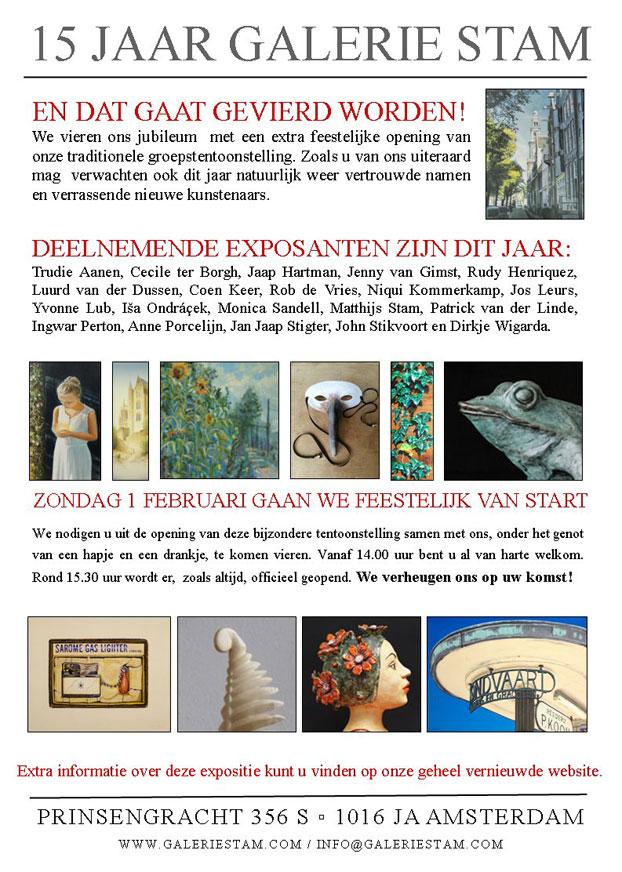 Expositie van Rob de Vries bij Evean Zaandam